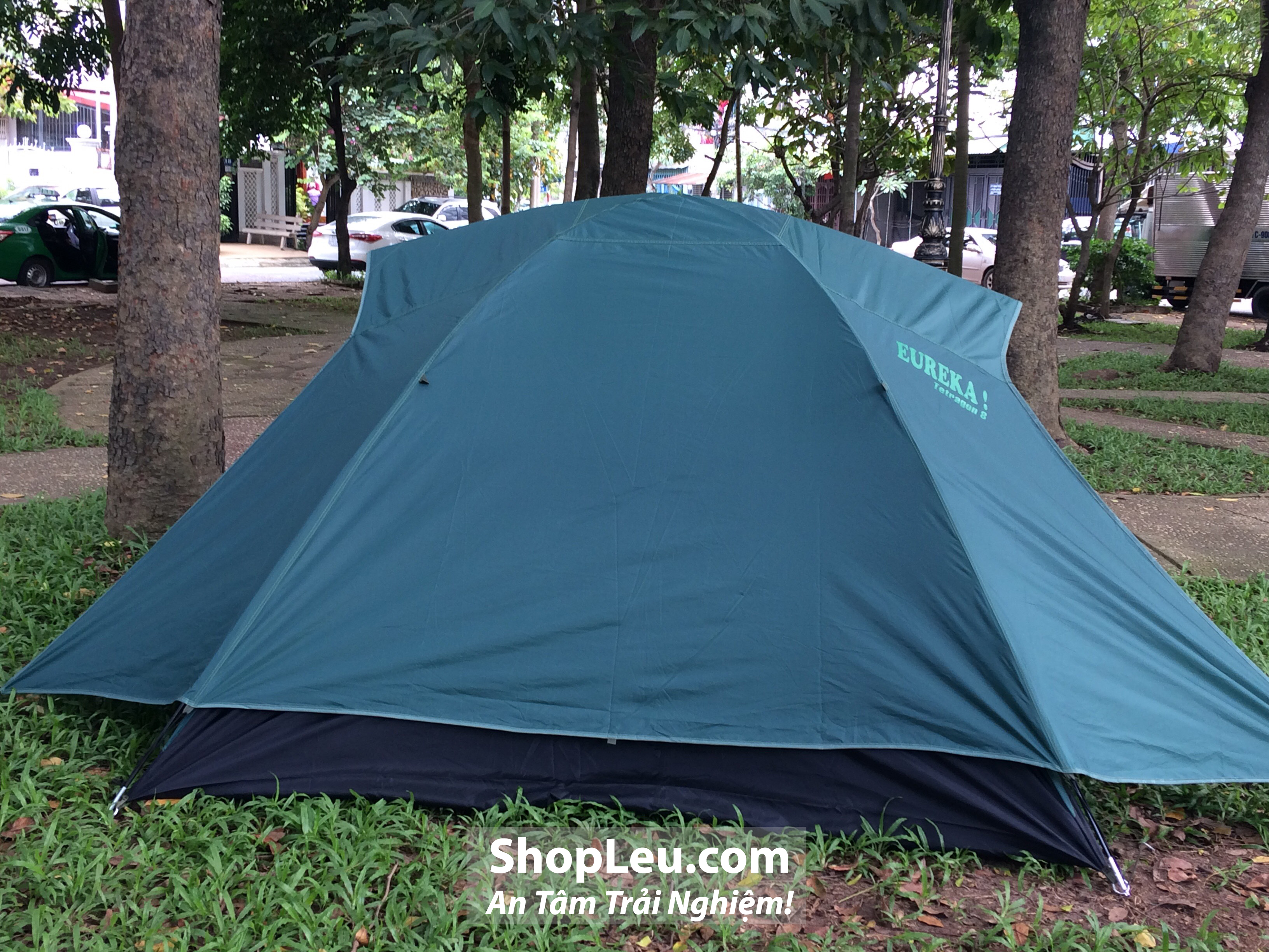 lều cắm trại 6 người eureka tetragon8 hai cửa