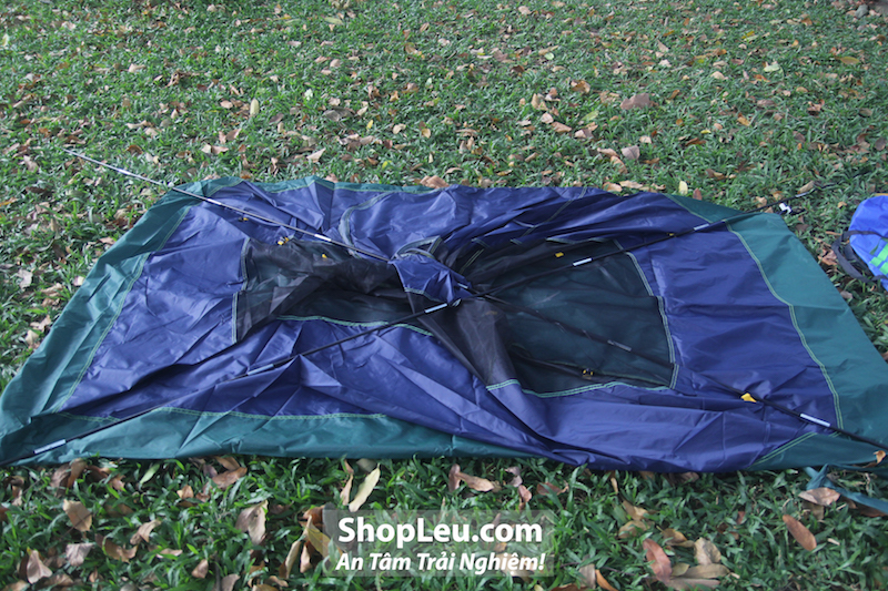 dựng lều cắm trại 2 người kelty salida