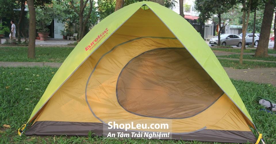 lều cắm trại 4 người chống mưa