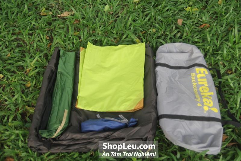 dựng lều cắm trại 4 người eureka backcountry