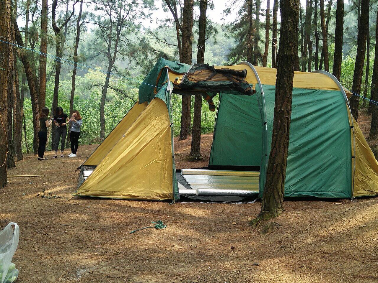 lều cắm trại tập thể cho từ 12 - 16 người