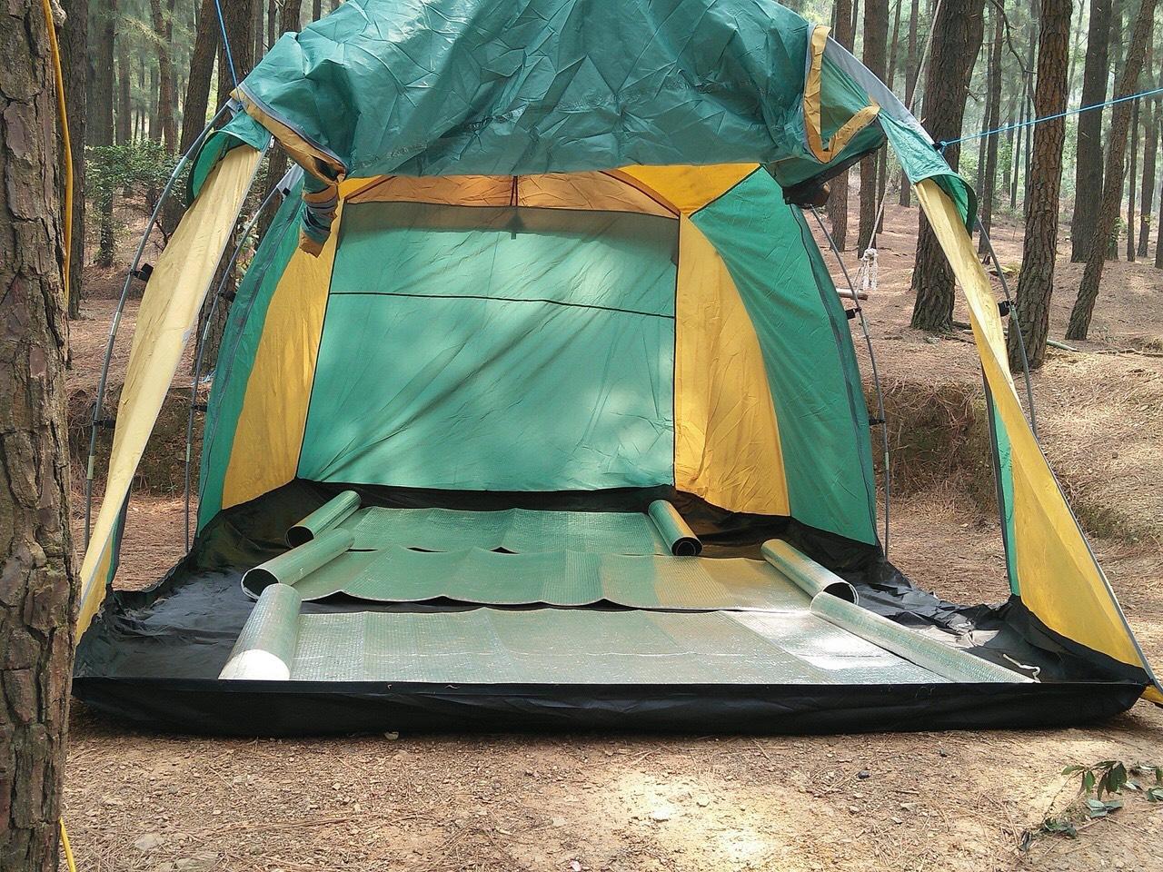 lều cắm trại tập thể