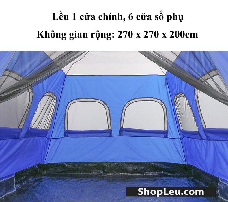 lều cắm trại tự bung 5 - 8 người Gazelle Outdoors GL1513