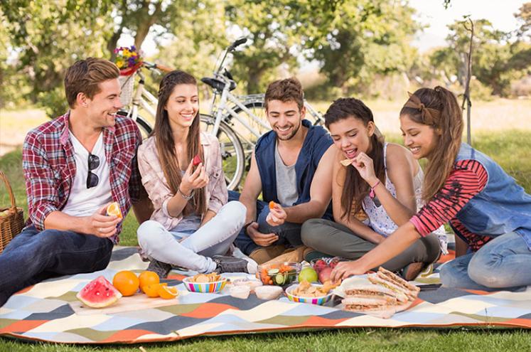 thảm picnic dã ngoại