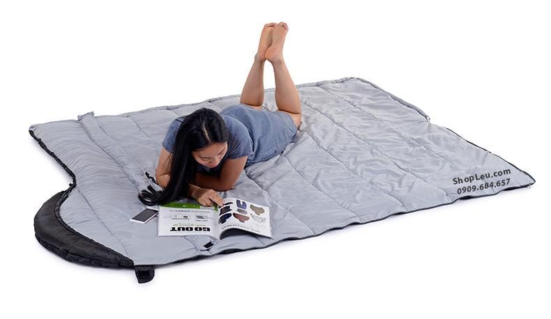 Túi ngủ đơn Naturehike NH15S009-D U150 có mũ trùm đầu