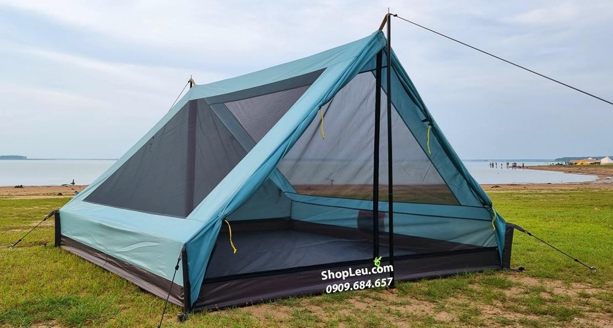 lều vintage home 4 - 5p xanh dương